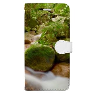 荒川の滝 Book-style smartphone case