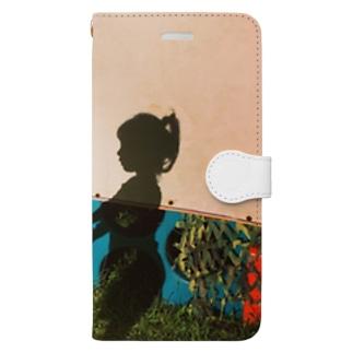childhood friend Book-style smartphone case