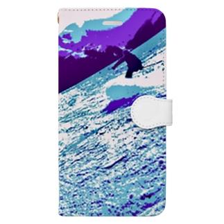 Glide. Book-style smartphone case