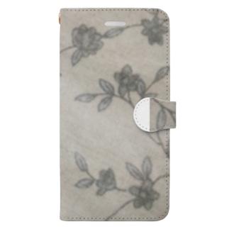 リネンの森 Book-style smartphone case
