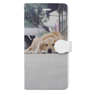 おかえり Book-style smartphone case