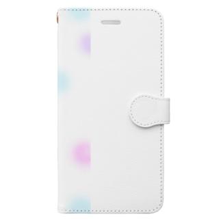 ふわふわいっぱい Book-style smartphone case