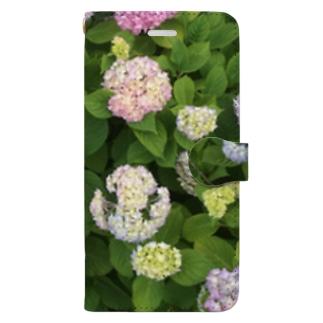 あじさい Book-style smartphone case