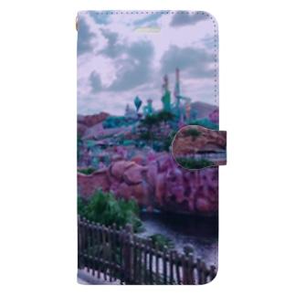 ディズニーシー マーメイドラグーン Book-style smartphone case