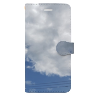 晴天の空 Book-style smartphone case