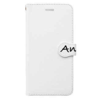 Ana m elele!(私は見ている!) ロゴ無ver. Book-style smartphone case