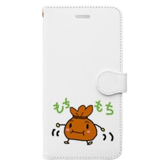 もちきんちゃくん Book-style smartphone case