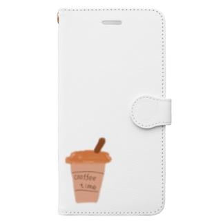 coffeetime Book-Style Smartphone Case