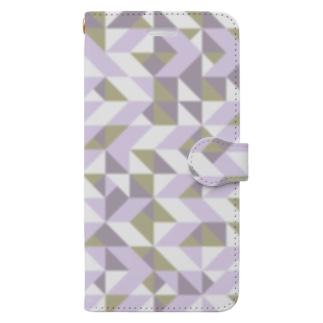 北欧⭐︎ノルウェーの幾何学 Book-style smartphone case