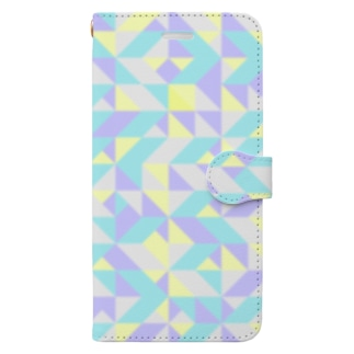 北欧⭐️スウェーデンの幾何学 Book-style smartphone case