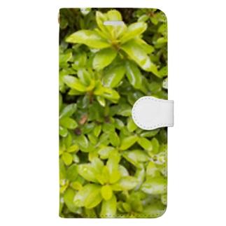 みどりちゃん Book-style smartphone case