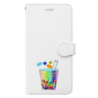 Tapioca Smile Book-style smartphone case