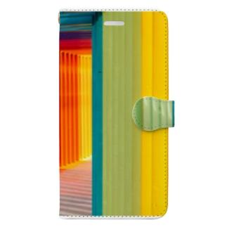 カラフルなゲート Book-style smartphone case
