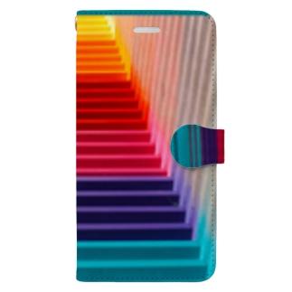 カラフルなゲート2 Book-style smartphone case