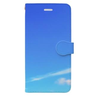 青空のトリブン Book-style smartphone case