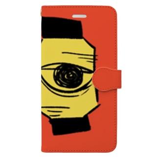 無口な提灯 スマホカバー Book-style smartphone case
