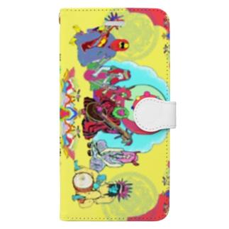 スマートフォンケース Book-style smartphone case