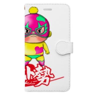 ガチバイト勢 Book-style smartphone case
