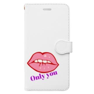 あなただけ Book-style smartphone case