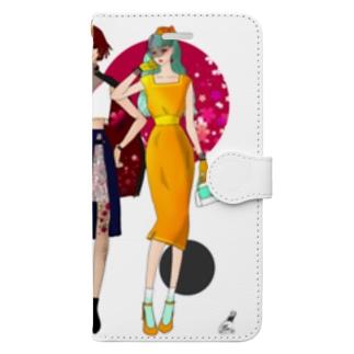 女たちよ Book-style smartphone case
