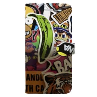 ぽっぷ Book-style smartphone case