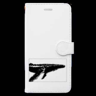 れいのTHE WHALE(クジラ) Book-style smartphone case