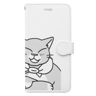 にゃーん Book-style smartphone case