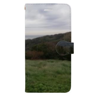 海景色 Book-Style Smartphone Case