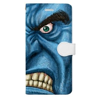 怒り心頭に発する Book-style smartphone case