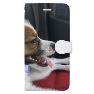 WAN Love Book-style smartphone case