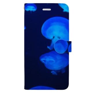 クラゲパラダイス Book-style smartphone case