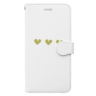 ♡♡♡『イエロー』 Book-style smartphone case