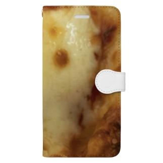 焼きチーズ Book-style smartphone case
