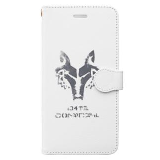コマンダーウォルフ Book-style smartphone case