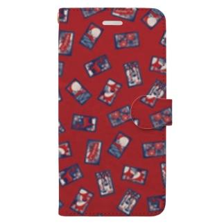 【日本レトロ#30】花札 Book-style smartphone case