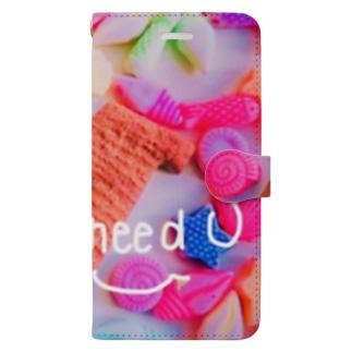 M Book-style smartphone case