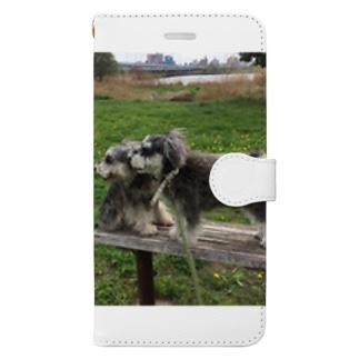 トランプくんとオリバーくん Book-style smartphone case