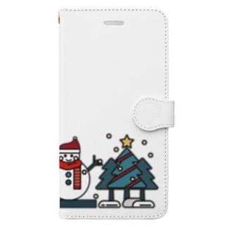 冬の風物詩 Book-style smartphone case