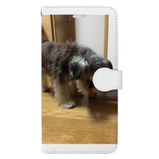 トランプとオリバーのトランプくん Book-style smartphone case