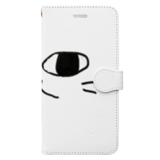 ねこになりたい Book-style smartphone case