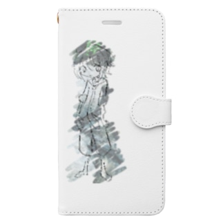 川 Book-style smartphone case
