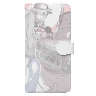 Smokig area  Book-style smartphone case