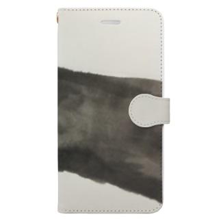 ぬーっとねこ Book-style smartphone case