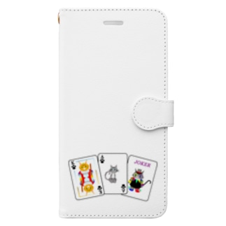 Cats × Cards Book-Style Smartphone Case