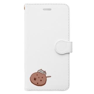 ネコクッキー Book-style smartphone case