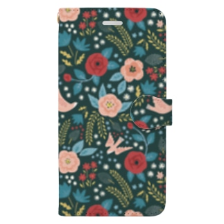 LOVELY GARDEN Book-style smartphone case