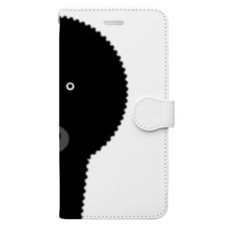 まりもちゃん Book-style smartphone case