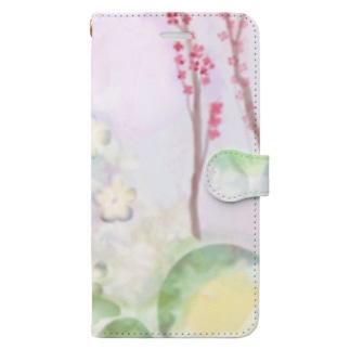 松乃山 Book-style smartphone case