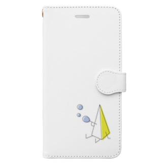 さんかくん Book-style smartphone case