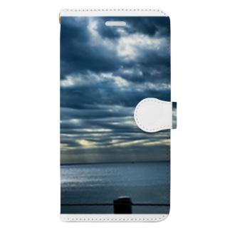 ひかる海 Book-style smartphone case